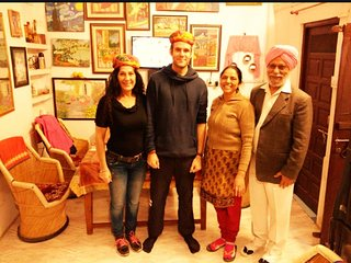 Enjoy! Homestay + Cultural Experience with Hari & Pari, Udaipur