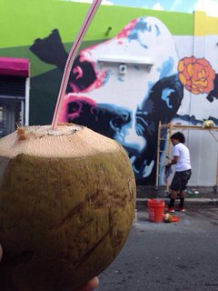 Grab a Fresh Coconut Water while exploring the Streets.