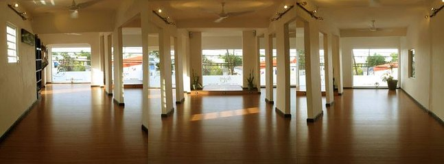 For the Yogis: Ashtanga Yoga. Students come from all over the World to practice here!