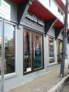 Double Cake Bakery - literally around the Corner from our Apartment.