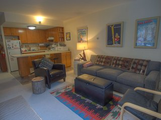 True ski on, ski off cozy Sugarbush condo