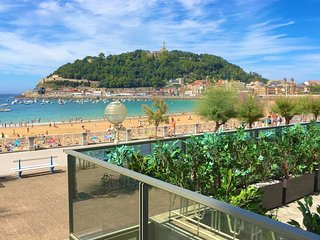 The best in San Sebastian. PRIVATE ENTRANCE & TERRACE