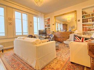 Spacieux et lumineux appartement vue sur les bateaux, Saint-Malo