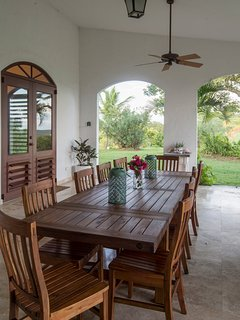 Main house outside dining
