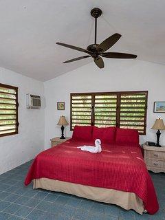 Pool house king bedroom