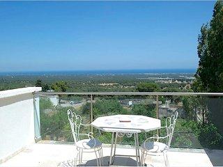 Torretta - sea view studio apartment in Ostuni the 'White City town'