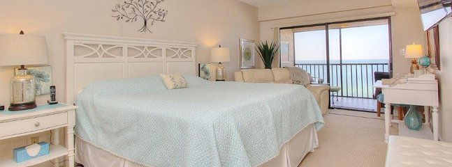Flawless master suite with incredible Gulf views at Arie Dam 503!