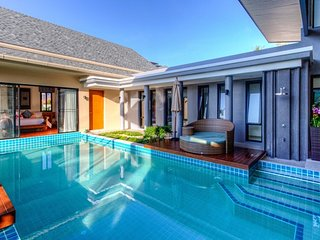 2 Bedrooms Private Luxury Pool Villa Phuket - Ibiscus