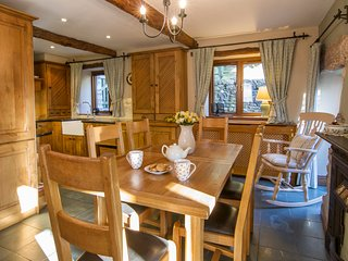 The Hayloft Sleeps 7 Luxury Barn Cartmel & Grange over Sands 4 Star Gold Award