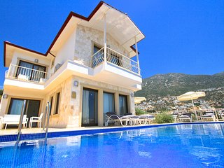 Villa Dionysus - 4 bedroom Kalkan villa with private pool and superb sea views