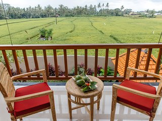 2 BDRM Heavenly Villa, Ubud Ricefield View