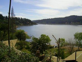 Cabañas en Lago Vichuquén, Parador del Aguila - naturaleza, lago, campo y playa