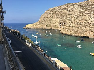 Stunning 2 Bedroom Apartment with Bay Views in Xlendi Bay, Gozo