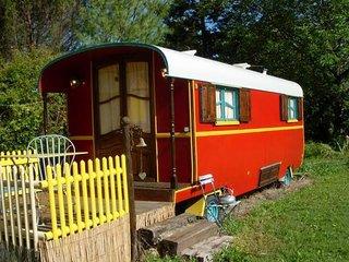 Roulotte , gîte et chambre d'hôtes entre cabane et maison, Plats