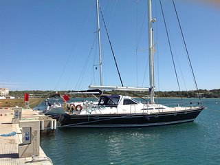 51 foot luxury sailing yacht Antibes Cote d Azur