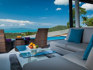 Azur Samui Luxury Sea View 4-Bedroom Pool & Cinema Villa (14)