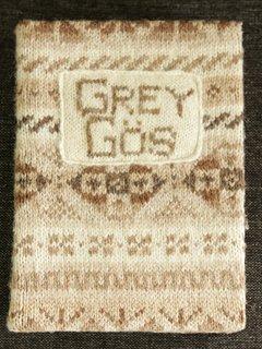 GREY GOS Visitor Book