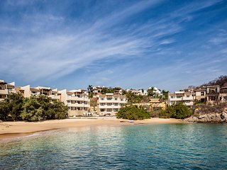 3 Bedroom Beachfront Residence, Huatulco