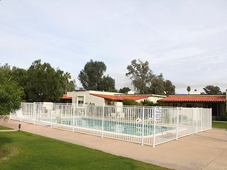 2BR, 2BA DeAnza Villa with Borrego Springs Mountain Views, Pool, and Spa