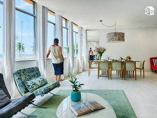 984 Sq.Ft. Leadind Apartment of the World - 5 Bdrm, 6 WCs and a amazing Sea View, Río de Janeiro