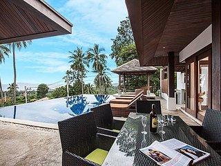 Baan Saitalay | 3 Bed Panoramic View Pool Villa in Samui