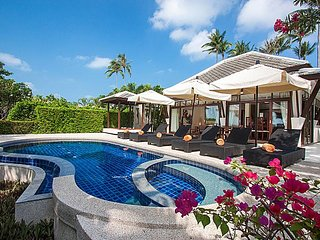 Blossom Dew Villa D | 3 Bed Beachside Pool Villa Koh Samui
