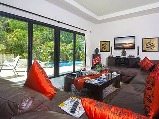 Stunning mountain view villa with pool, Kata Beach
