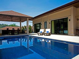 Modern 4 bed Nai Harn serviced villa, Kata Beach