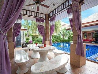 Thammachat Madonna Villa | 3 Bed Pool Villa near Pattaya, Na Chom Thian