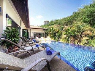 Villa Gaew Jiranai | 4 Bed Holiday Pool Home in Nai Harn South Phuket