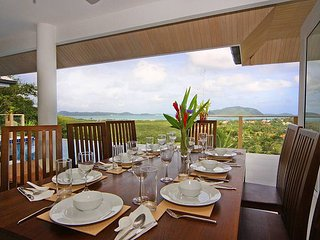 Expansive villa with distant sea views, Kata Beach