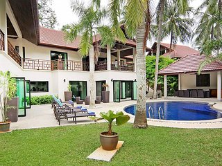 Narumon | 5 Bed Serviced Pool Villa Near Nai Harn Beach in South Phuket, Kata Beach