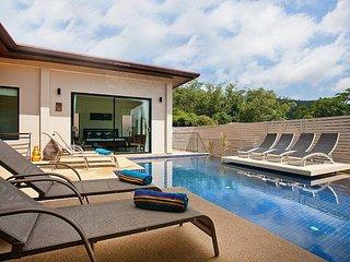 Villa Kaimook Andaman   6 Bed Serviced Pool Villa in Nai Harn Phuket, Kata Beach