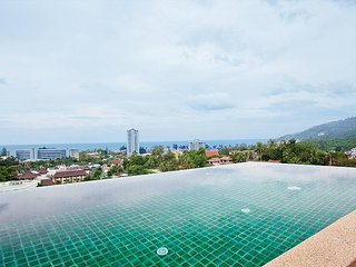 Villa Samoot Sawan | 3 Bed Hillside Pool Villa at Karon Beach West Phuket