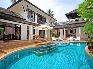 Bamboo Villa P9 | 4 Bed Pool House on Bang Po Beach in Koh Samui
