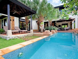 4 Bed Holiday Villa By The Beach With Private Pool & Huge Green Garden in Phuket