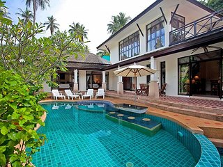 Bamboo Villa P11 | 3 Bed Beachside Pool Villa in Bang Po on Koh Samui