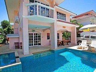 Baan Phailin | 4 Bed Villa with Private Pool near Jomtien Beach Pattaya