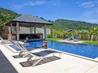 6 bed serviced villa with private pool, Kata Beach
