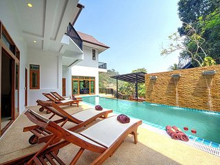 Patong Hill Estate Seven | 7 Bed Sea View Pool Villa in Patong West Phuket