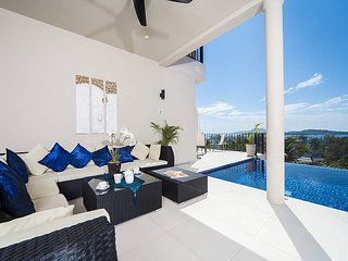 Villa Hin Fa | 8 Bed Ocean View Property on Rawai Hills in Phuket, Ko He