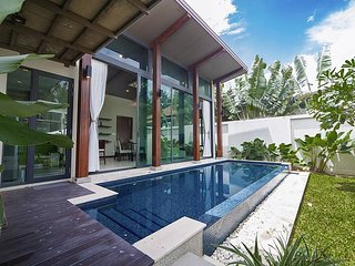 Villa Wan - Modern 2 Bed Pool Villa -10 Mins From Bang Tao, Surin Beaches Phuket, Chalong