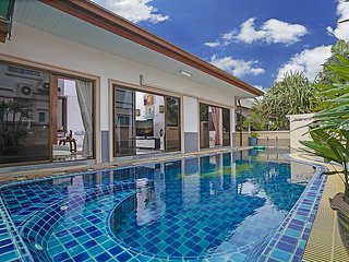 Thammachat P1 Alese | 3 Bed Pool Villa in Bangsaray South Pattaya