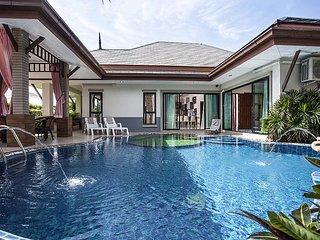 Thammachat P2 Laima | 3 Bed Pool Villa in Huay Yai Pattaya, Na Chom Thian