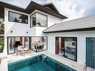 Luxury villa 1.2km from Ban Tai beach, Koh Samui