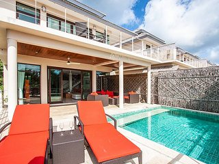 Baan Phu Kaew C1   3 Bed Sea View Pool Villa Koh Samui