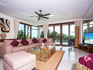 Baan Phu Kaew C6 | 3 Bed Samui Villa Pool with Sea View