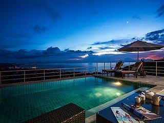 Baan Phu Kaew A2 | 3 Bed Pool Villa Great Views in Samui