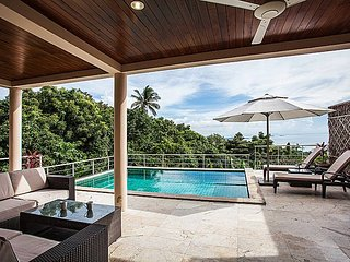 Baan Phu Kaew A6 | 3 Bed Hillside Pool Villa in Koh Samui