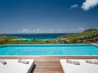 Exotic Ocean View Luxury Villa in St Jean with Breathtaking Views